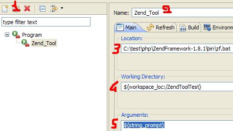 Create an External Tool in Eclipse