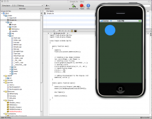 Haxe on the iPhone simulator