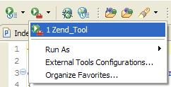 Use Zend_Tool from Eclipse
